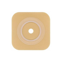 "SurFit Natura  Colostomy Barrier Trim to Fit Extended Wear Durahesive Without Tape 134"" Flange Hydrocolloid 1 to 114"" Stoma [768455106165]"