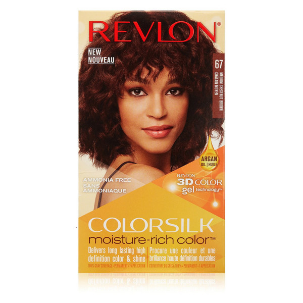 Revlon Colorsilk Moisture Rich Hair Color Medium Chestnut Brown 67