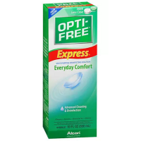OPTI-FREE EXPRESS Everyday Comfort, Advanced Cleaning & Disinfection 10 oz [300653144503]