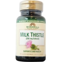 Windmill Herbals Milk Thistle 1000 mg Tablets 30 Tablets [035046007157]