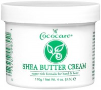 Cococare Shea Butter Cream 4 oz [075707098551]