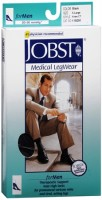 JOBST Medical LegWear For Men Knee High 20-30 mmHg Black X-Large Close-Toe 1 Pair [035664150914]