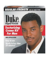 Duke Texturizing Creme Kit for Men Regular Strength, 1 Kit [014529110041]
