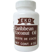 EKO Caribbean Coconut Oil 4 oz [084562750221]