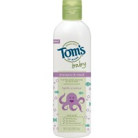 Tom's of Maine Baby Shampoo & Wash, Lightly Scented 10 oz [077326833544]