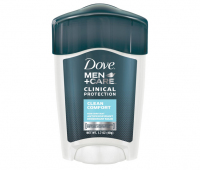 Dove Men + Care Clinical Protection Antiperspirant Deodorant Solid Clean Comfort 1.70 oz [079400066756]