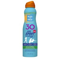 Kiss My Face Cool Sport Air Powered Sunscreen Spray Lotion SPF 30 6 oz [028367843399]