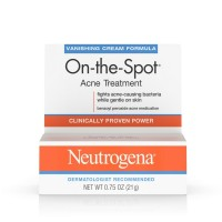 Neutrogena On-The-Spot Acne Treatment Vanishing Cream Formula 0.75 oz [070501017906]