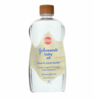 JOHNSON'S Baby Oil Shea & Cocoa Butter 20 oz [381371024230]