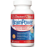 U.S. Doctors' Clinical  Brainpower Advanced Memory Supplement Capsules  60 ea [851743006022]