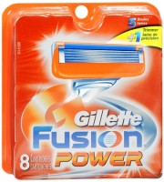 Gillette Fusion Power Cartridges 8 Each  [047400156883]