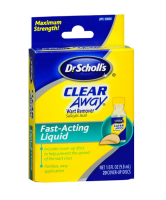Dr. Scholl's Clear Away Wart Remover Fast Acting Liquid 0.33 oz [311017200025]