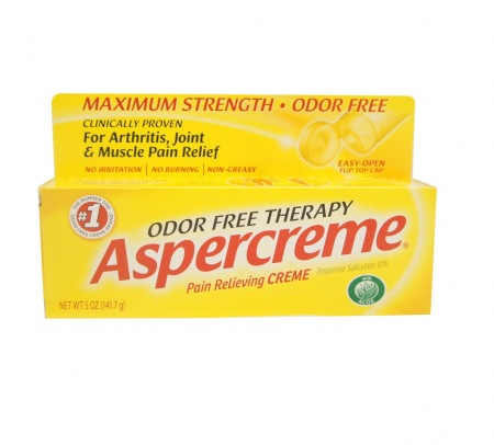 ASPERCREME Pain Relieving Creme 5 oz [041167057056]