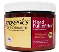 Groganics Head Full of Hair, 6 oz [714924760826]