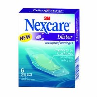 Nexcare Blister Waterproof Bandages, One Size 6 ea [051131208704]
