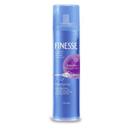 Finesse Finish + Strengthen, Extra Hold Hairspray 7 oz [067990500538]