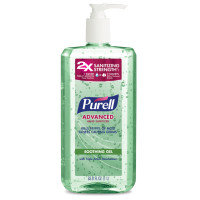 Purell Advanced Hand Sanitizer with Refreshing Aloe 33.8 oz [073852027464]