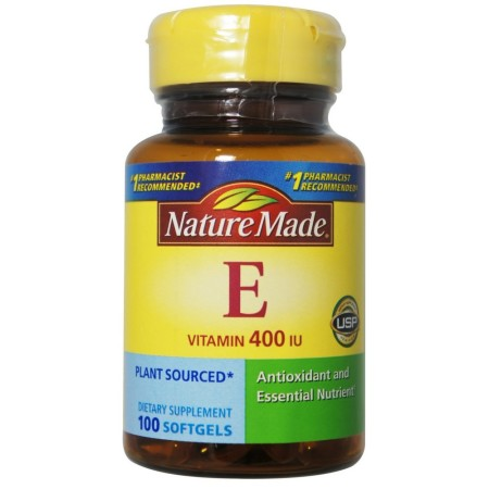 Nature Made Vitamin E 400 I.U. Softgels 100 ea [031604012243]