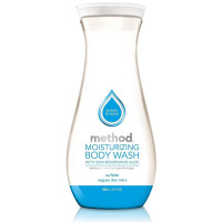 Method Pure Naked Moisturizing Body Wash, Surfside With Aloe Vera 18 oz [817939013090]