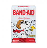 BAND-AID Assorted Adhesive Bandages, Peanuts 20 ea [381371162840]