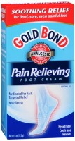 Gold Bond Pain Relieving Foot Cream 4 oz [041167017449]