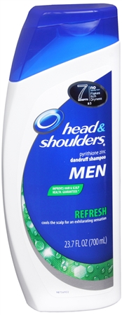 Head & Shoulders Refresh Dandruff Shampoo 23.70 oz [037000012115]