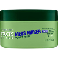 Garnier Fructis Style Power Putty Mess Maker 3.4 oz [603084496921]
