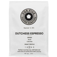 For Five Dutchess Espresso Ground 12 oz [853473008307]
