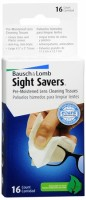 Bausch & Lomb Sight Savers Pre-Moistened Lens Cleaning Tissues 16 Each [010119415022]