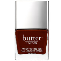 Butter London Patent Shine 10x Nail Lacquer, Rather Red 0.4 oz [811338022912]
