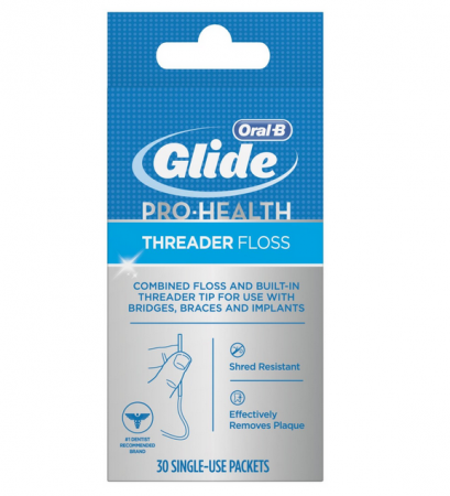 Glide Threader Floss 30 Each [037000469742]