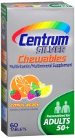 Centrum Silver Tablets Chewables Citrus Berry 60 Tablets [300054461193]