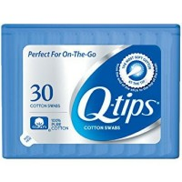 Q-tips Swabs Purse Pack 30 Each [305210221277]