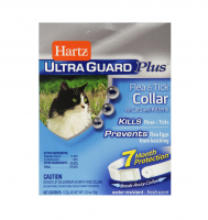 Hartz Ultraguard Plus Flea &Tick Collar for Cat, Fresh Scent 1 ea [032700942687]