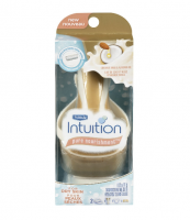 Schick Intuition Pure Nourishment with Coconut Milk & Almond Oil Razor, 1 ea [841058040866]