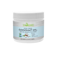 Sky Organics USDA Organic 100% Pure, Unrefined, & Cold-Pressed Extra Virgin Coconut Oil, 16.9 oz. [856045007029]
