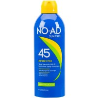NO-AD Continuous Spray Sunscreen SPF 45 10 oz [000774215013]