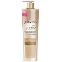 Jergens Natural Glow Daily Moisturizer, Fair to Medium Skin Tones 10 oz [019100195707]