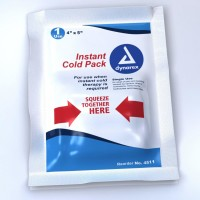 "Dynarex Instant Cold Pack General Purpose One Size Fits All 4 x 5"" Disposable (Case of 24) [616784451138]"