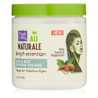 Dark and Lovely Au Naturale Length Retention Nice & Neat Braiding Custard 14.4 oz [075285013182]