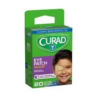 Curad Eye Patches Regular 20 Each [080196323794]