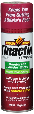 Tinactin Antifungal Deodorant Powder Spray 4.60 oz [311017410004]