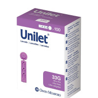 Unilet Sharepened Needle Unilet Lancets, 100 ea [384700585013]