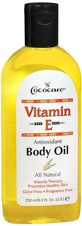 Cococare Vitamin E Body Oil 8.50 oz [075707048006]