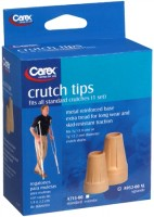Carex Crutch Tips X-Large A952-00 2 Each [023601095206]