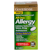 Good Sense All Day Allergy Cetirizine Hydrochloride Tablets 10 mg 45 ea [370030149674]