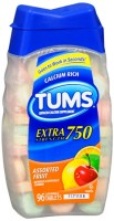 TUMS E-X 750 Tablets Assorted Fruit 96 Tablets [307660739661]