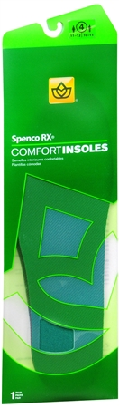 Spenco RX Comfort Insoles #4 1 Pair [038472369042]