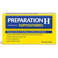 Preparation H Hemorrhoidal Suppositories 12 ea [305732883106]
