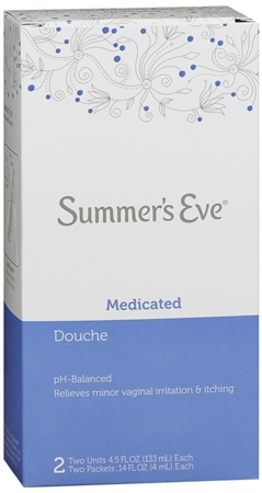 Summer's Eve Douche Medicated 2 Each [041608087437]